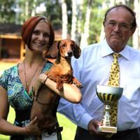 "Solovyev Vivre Vivien Formula Uspeha -Champion Bonitation, Class ""Elite""!!! 1-Best in Show Veteran!"