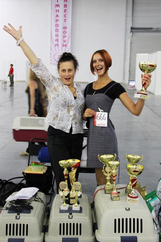 15-16.09.12. 2xCACIB Ukraine. Zaporozhye.