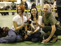 "13.04.13. Moscow. Special dachshund Show ""Professional"""