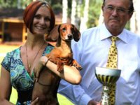 "Solovyev Vivre Vivien Formula Uspeha -Champion Bonitation, Class ""Elite""!!! 1-Best in Show Veteran!"
