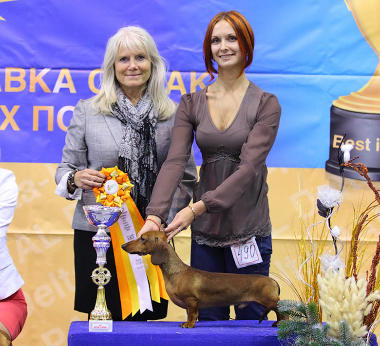Formula Usprha Top Gear (9.5 months) - J.CAC, Best Junior, BOB, 1-Best in Group!