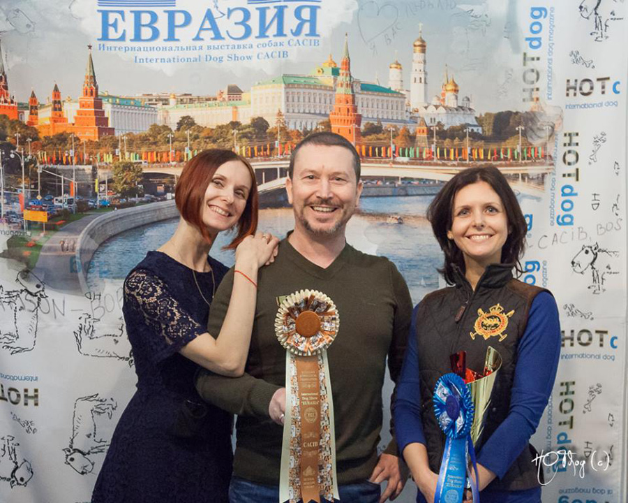 "19.03.17 Russia. Moscow. International Dog Show ""Eurasia-3"""